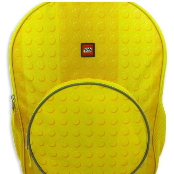 Lego Other - New! Classic Yellow LEGO Kids Backpack Reflective